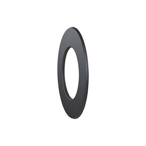 LANZZAS Ofenrohr Wandrosette mit 50 mm Rand, im Durchmesser, DN Ø 150 mm, Farbe: gussgrau - weitere Rohre aus unserem Sortiment, finden Sie hier.