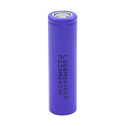 hsvgjsfa 3.7v 18650 2600mah Litio Batteires, Volt High Drain 10A Battery Se Puede Utilizar para Herramientas EléCtricas Etc 1piece