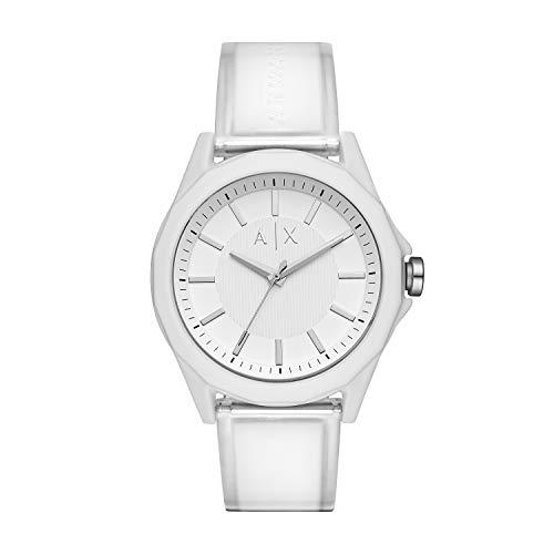Armani Exchange Reloj para de Cuarzo con Correa en plástico AX2630