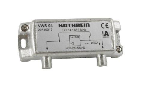 Kathrein VWS 04 Satelliten-ZF-Verstärker (Empfangsbereich 47-862 MHz, 950-2400 MHz)