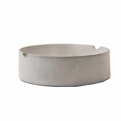 HQLCX Cendrier Ciment Modernes Cendrier Nordique