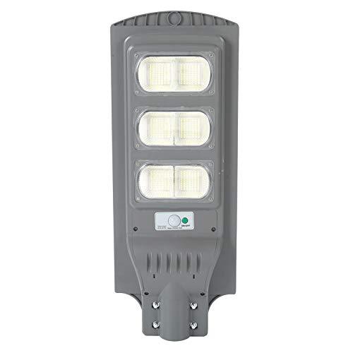 Luces solares al aire libre, 6500K-7000K 180W 420 Lámpara LED, Inalámbrico IP66 Luz de inundación solar impermeable, Luz de sensor de movimiento de seguridad al aire libre para terraza, cerca, patio,