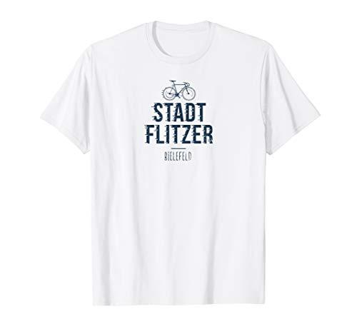 Lustiges Stadt Fahrrad Bielefeld T-Shirt Geschenk