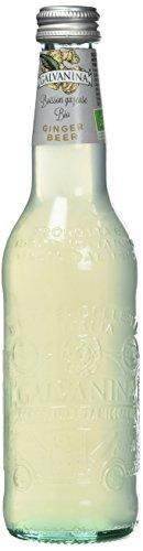 Galvanina Boisson Gazeuse Ginger Beer New Bio 355 ml - Lot de 6