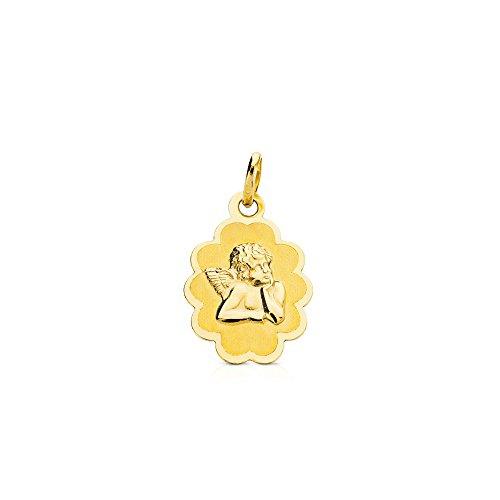 Angelo medaglia d'oro - oro giallo 18k (750)