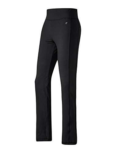 Joy Sportswear Marion Trainingshose für Damen, sportlich-feminines Modell mit Langen Beinen ideal zum Tragen beim Sport oder Training im Gym Kurzgröße, 22, Black