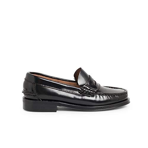 Zapatos Castellanos Mocasines de Piel para Niño Pisamonas