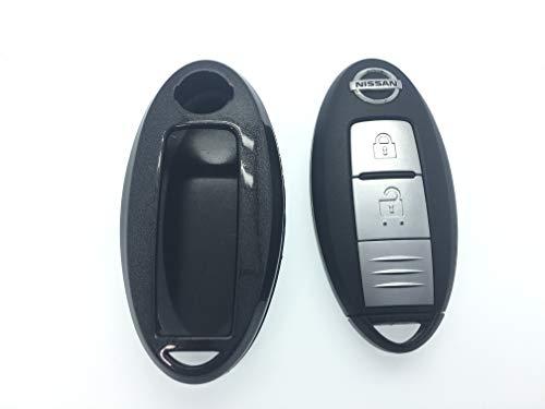 Protex 2015NIRD-16 Coque rigide haute brillance pour 2 ou 3 boutons Smart sans clé (Noir)