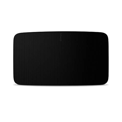Sonos Five WLAN Speaker, schwarz – Leistungsstarker WLAN Lautsprecher für Musikstreaming mit gutem, kristallklarem Stereo HiFi Sound – AirPlay kompatibler Multiroom Lautsprecher