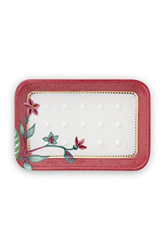 PiP Studio Soap Dish Jambo Flower Pink 14x9.5x2cm