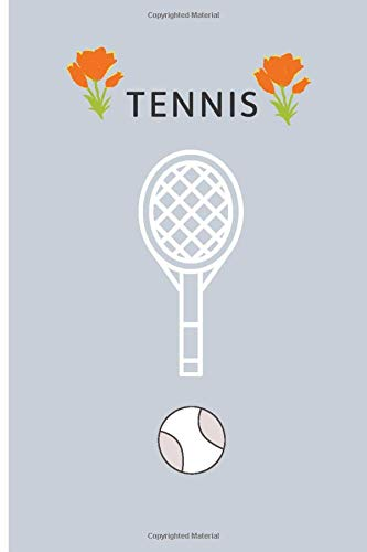 tennis: Training Notebook: A Lined Ttennis Book That Includes Your Daily Work of Writing a Training Plan, Instructor Notes and Your Own Physician 9x6 and 120 Pages
