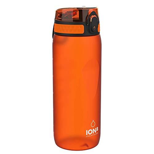 Ion8 Auslaufsichere Trinkflasche Fahrrad, BPA-frei, 750ml, Orange