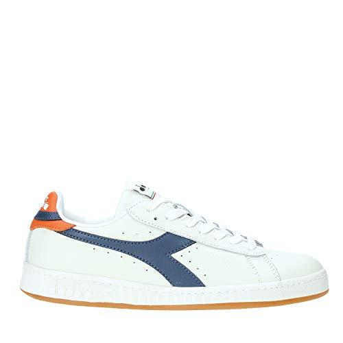 Diadora Sneakers Uomo Game L Low 501.172526-C8572 Bianco/Blu/Papavero 7-40.5 EU