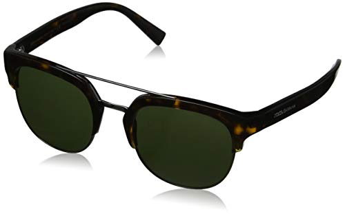 Dolce & Gabbana heren 0DG4317 502/71 53 zonnebril, bruin (Havana/Green)