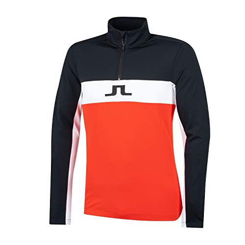 J. Lindeberg Herren Kimball Jarvis mid Field Jacke - Rot XXL