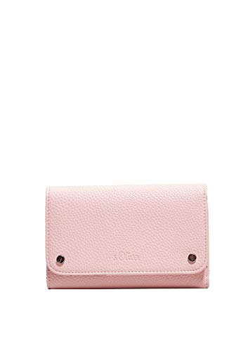 s.Oliver RED LABEL Damen Strukturierter Flap Wallet soft rose 1
