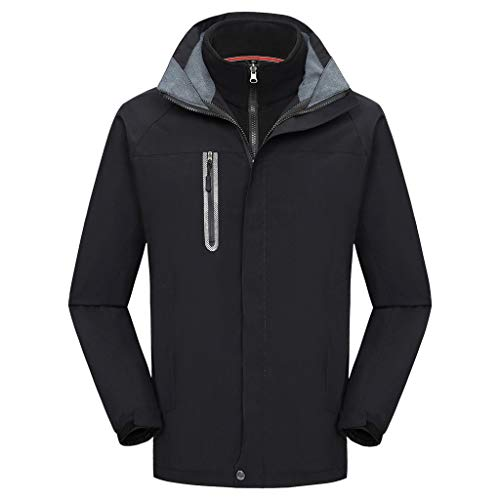 Best Deals! Letdown_Men Hoodies Women Men Couples Autumn Winter Sport Outdoor Waterproof Windbreaker...