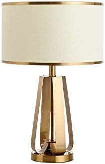 NEW before selling ☆ no-logo WAJklj Online limited product Golden Table Lamp Bedroom Bedside M Creative