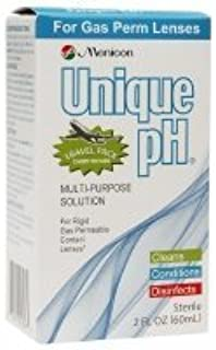Unique pH Travel Pack- Multipurpose Solution for Gas Permeable Contact Lenses, 2.5 fl oz (Pack of 2)