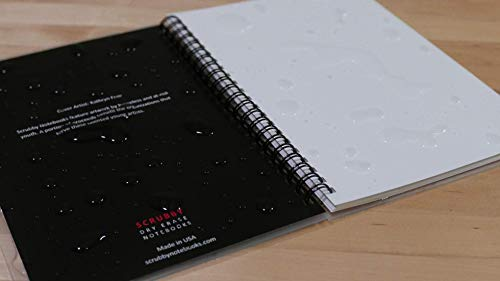 """Scrubby Reusable Whiteboard Notebook -- Large Size (8"""" x 10"""") -- Hatch Cover Photo #2"""