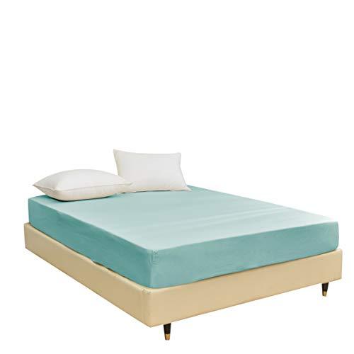 Strato Bedding - Juego de sábanas de microfibra compuesto de sábana encimera, bajera y fundas de almohada y de edredón, fácil cuidado, no encoge ni se decolora, transpirable