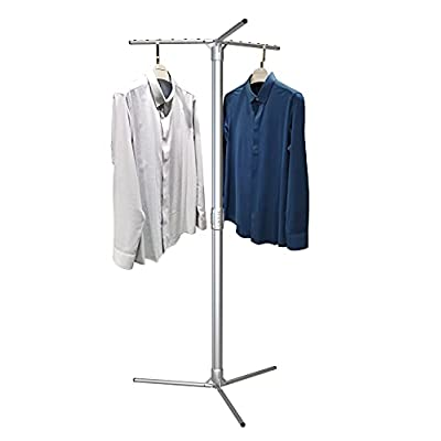 Aluminum Foldable Portable Clothes Drying Rack