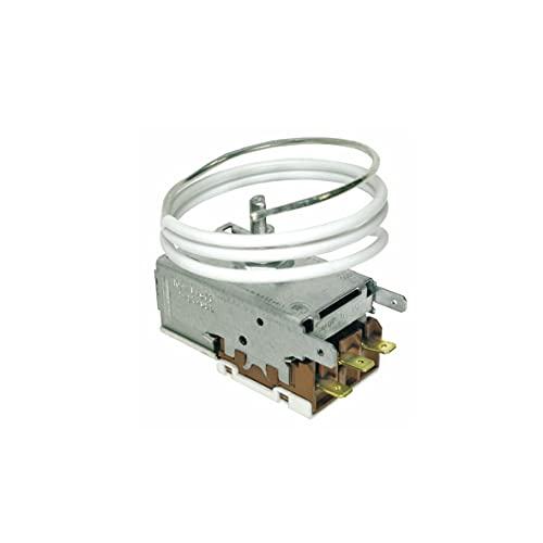 Europart 10004191 Ranco K59-L2677 - Termostato para frigorífico Miele 1677710 5493640 Ranco K59-L2622 Liebherr 6151186