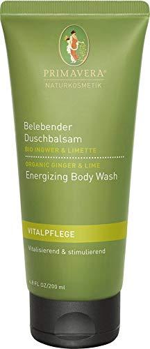 Primavera Life Bio Belebender Duschbalsam Ingwer Limette (2 x 200 ml)