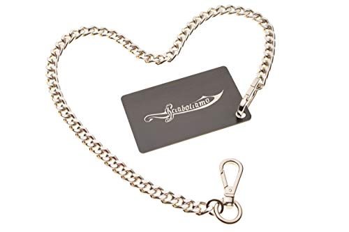 Sabrage Card PERSONALIZZABILE - Tessera per sciabolare Champagne - La Sciabolata Assistita, il kit Card + Chain: potrai sciabolare senza che il tappo decolli senza controllo!