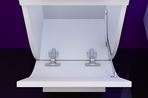 Atlantis Badmöbel Set Komplett Weiß Bild 6*