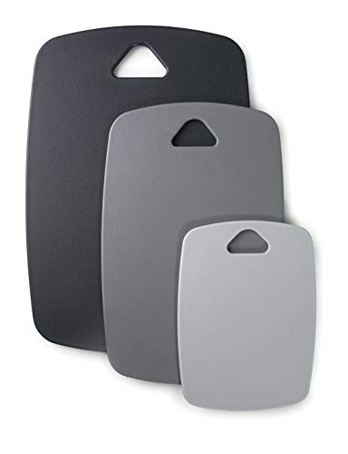 Lacor 60500 - Set di 3 taglieri a doppio lato, in polipropilene, senza BPA, in plastica