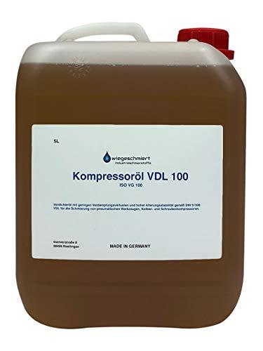 5 Liter Kanister Kompressoröl VDL 100