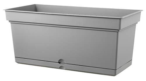 Teraplast Aqua 78cm Fioriera, Fog Grey, 78 cm