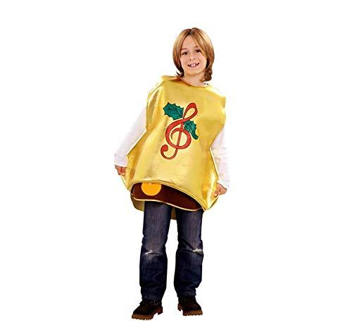 Disfraz de campana de Navidad - Color - Amarillo, Talla - 7-9 años
