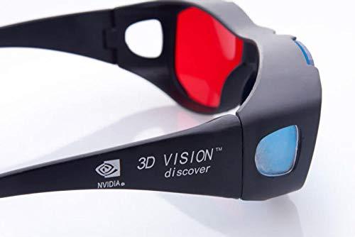 2019 Universal Typ 3D Brille/Rot Blau Cyan 3D Brille Anaglyph 3D Plastikbrille