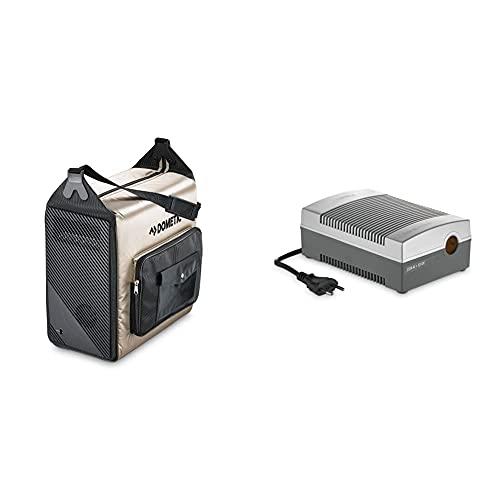 DOMETIC BordBar TF 14 - tragbare elektrische Kühlbox fürs Auto, elegante Kühltasche, 12 V, 14 Liter & Dometic CoolPower EPS, AC/DC-Netz-Adapter, Wechselrichter, Spannungwandler mit Zigarettenanzünder