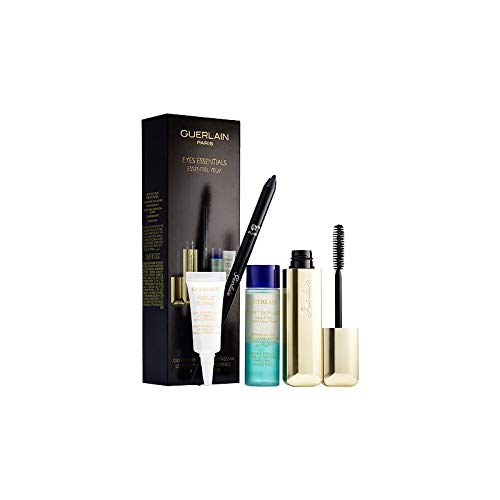 GUERLAIN CILS D´ENFER MASCARA BLACK 8.5 ML + EYE PENCIL 0.5 GR+ ABEILLE E. CR. 5 ML + EYE&LIP REMOV. 15 ML SET