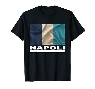 Napoli Jersey - Naples Italy Flag T Shirt - Soccer Clothing