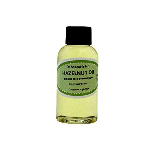 Aceite de avellana orgánico puro expulsor presionado por Dr.Adorable 2 oz