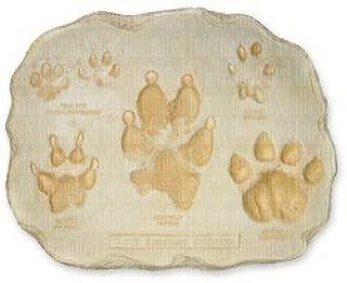 Large Predator Footprint Plaque (29.5x23cm)