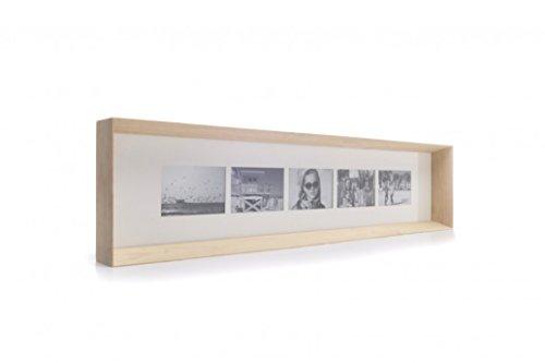 XL Boom XLBF3051-33 Cadres Photo, Bois Enduit, Marron, 101 x 23 x 7 cm