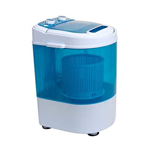 Display4top Portable Mini Washing Machine Spin Cycle W/Basket,3.2KG