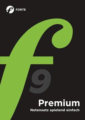 Forte 9 Premium Notationsprogramm für anspruchsvolle Hobby-und Profimusiker