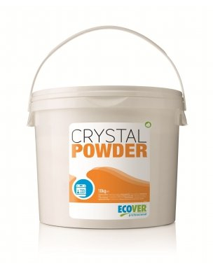 Ecover GREENSPEED Engineered by Crystal Powder - Ökologisches Spülmaschinenpulver - 10 kg