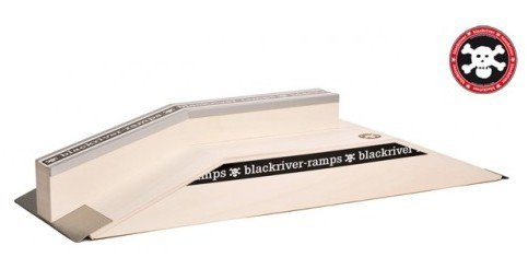 Black River Ramps Fingerboard Ramp Ledge fun box - wooden fingerboard ramp