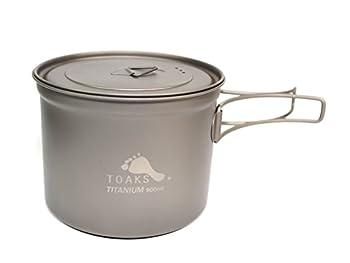 TOAKS Titanium 900ml Pot with 115mm Diameter by TOAKS