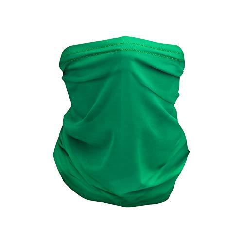 Unknow Deportes al Aire Libre Color sólido sin Costuras Pañuelo mágico Pañuelo de Seda de Hielo Pañuelo de Nylon para Montar Bufanda Cara M
