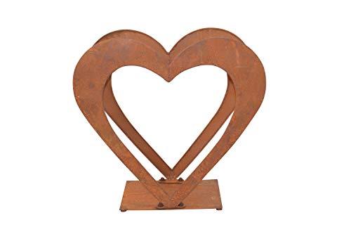 moebel direkt online Holzregal aus Eisen Herz