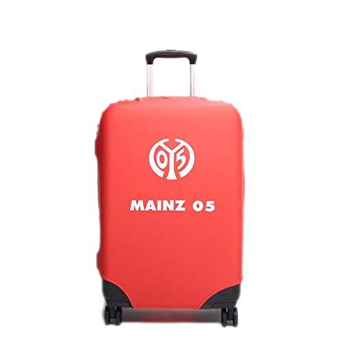 made2trade Offizielle MarkenMerch Kofferhüllen der Bundesliga Vereine - Mainz 05 - Größe M