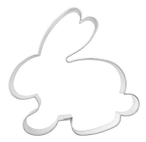 Formina Ausstechform Hase sitzend ca. 6,5 cm aus Edelstahl
